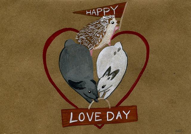 love day cake