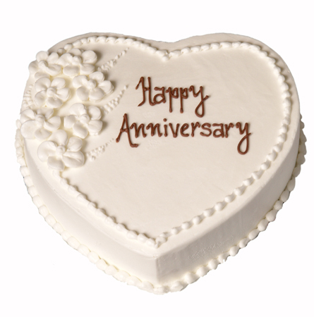 happy anniversary cake
