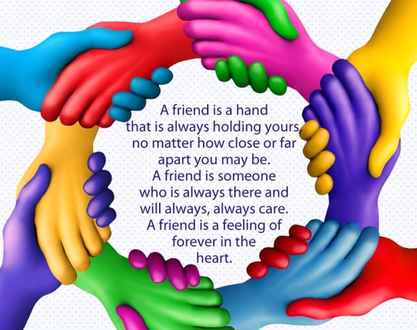 friendship animated wallpaper